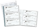 3 Per Page Business & Personal Check