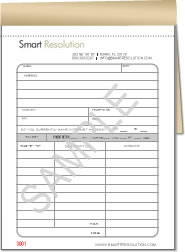 Design Your Own Carbonless Business Forms Wrap Around Books