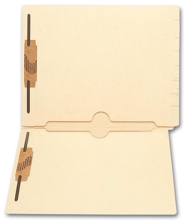 Custom End Tab Folders are perfect for keeping any necessary documents safe and secure.