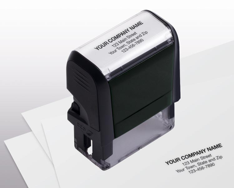 Self-Inking Name & Address Small Stamp with personalization