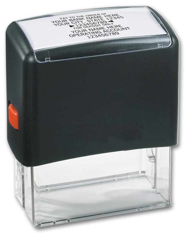 102170 - Bank Endorsement Stamp, Self-Inking