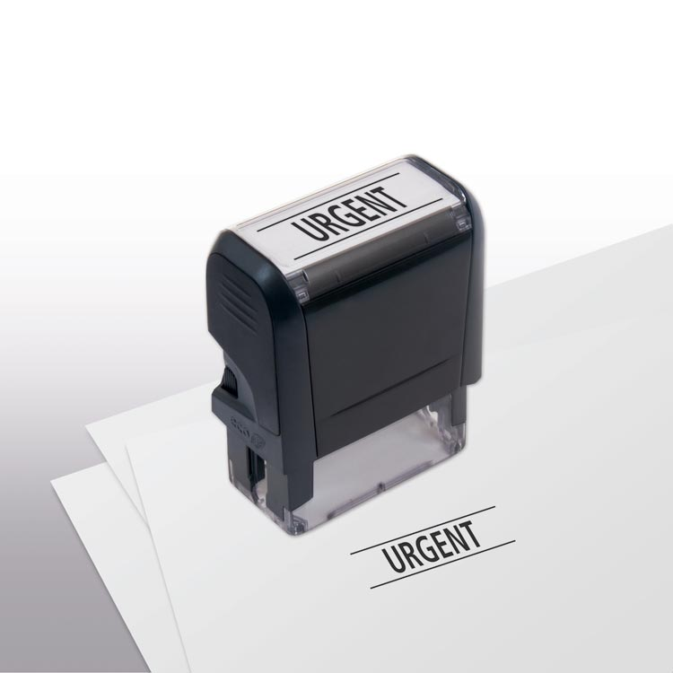 Urgent Self-Inking Stamp with custom options
