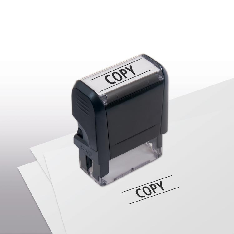 Copy Self-Inking Stamp with custom options