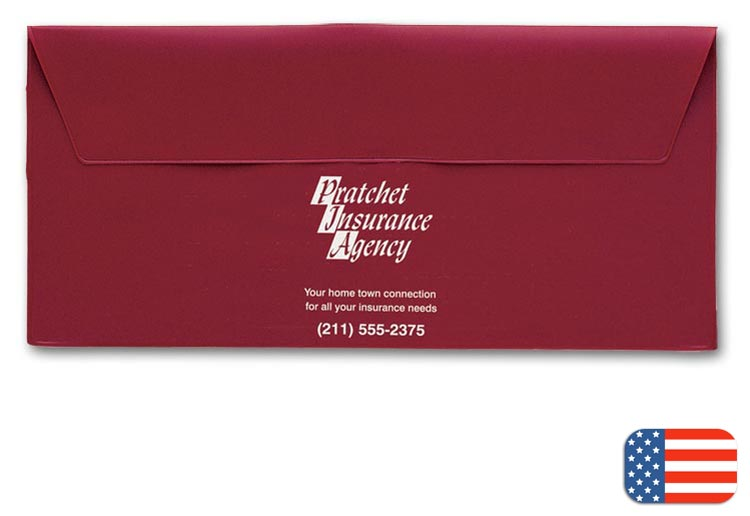 Promotional document envelope