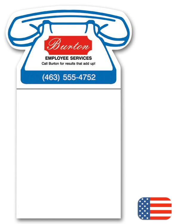 This beneficial Phone Magnet is a perfect way to promote your business.
