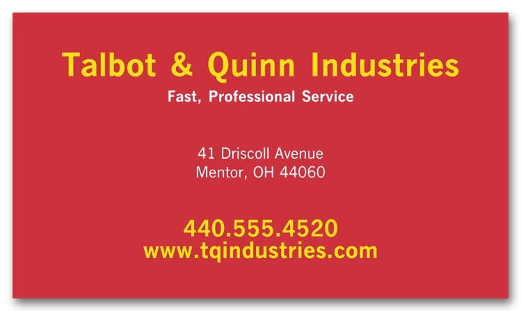 108762 - Large Personalized Business Card Magnets