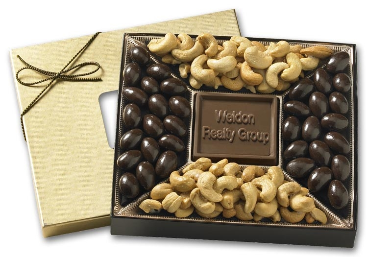 108805 - Custom Holiday Gifts - Chocolates & Nuts