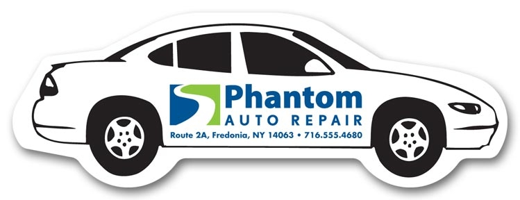 108869 - Personalized Car Shaped Magnets