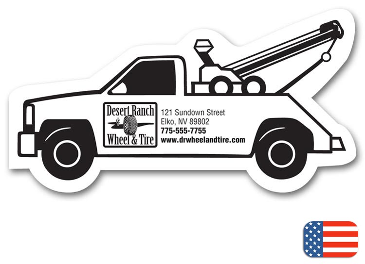 Promotional Truck Magnet with Custom option
