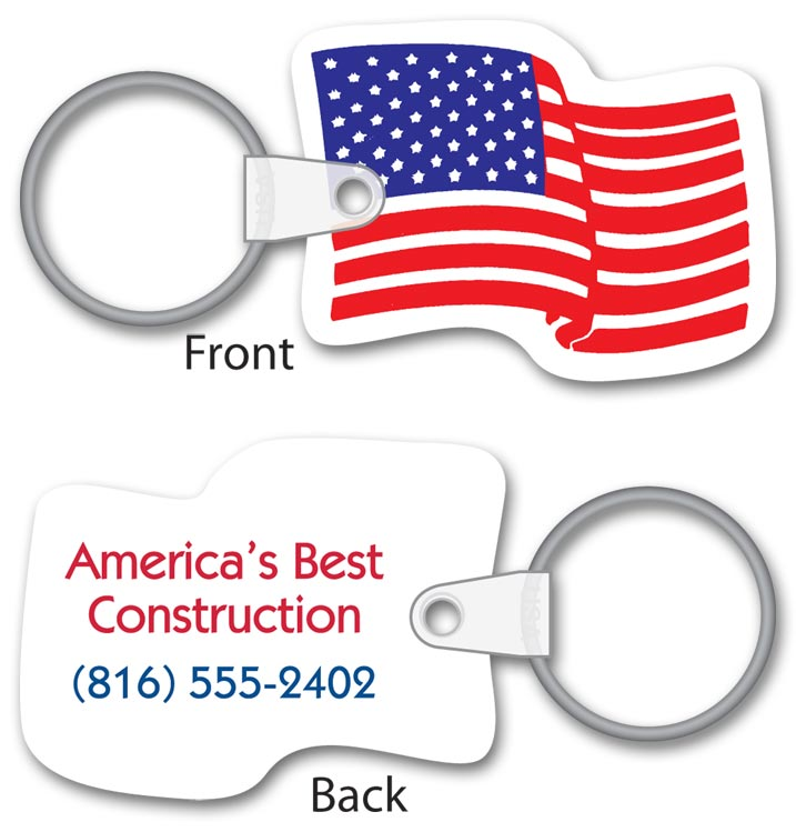 Promotional Flag tag with Custom option