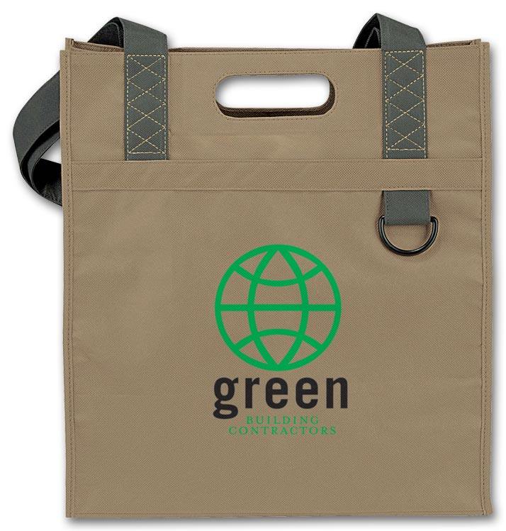 Promotional Dual Carry Tote with Custom option