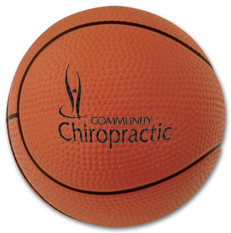 Promotional Basketball Stress Reliever with Custom option