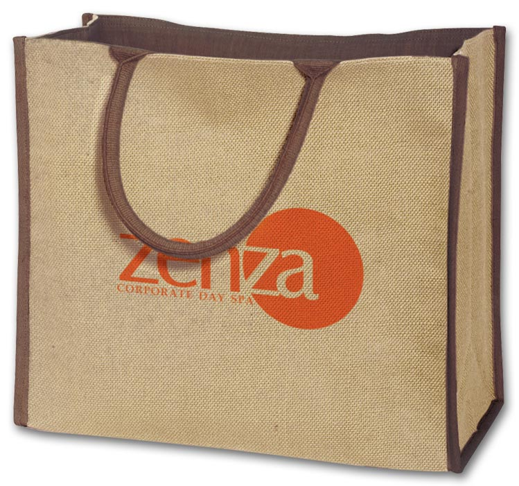 Promotional Jute Tote with Custom option