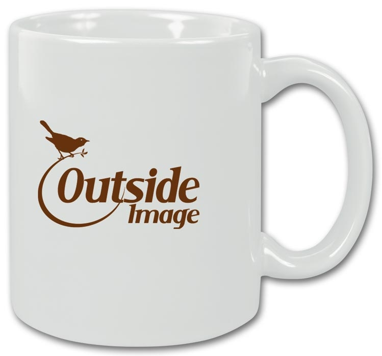 109623 - Promotional Products - White Ceramic Coffee Mugs