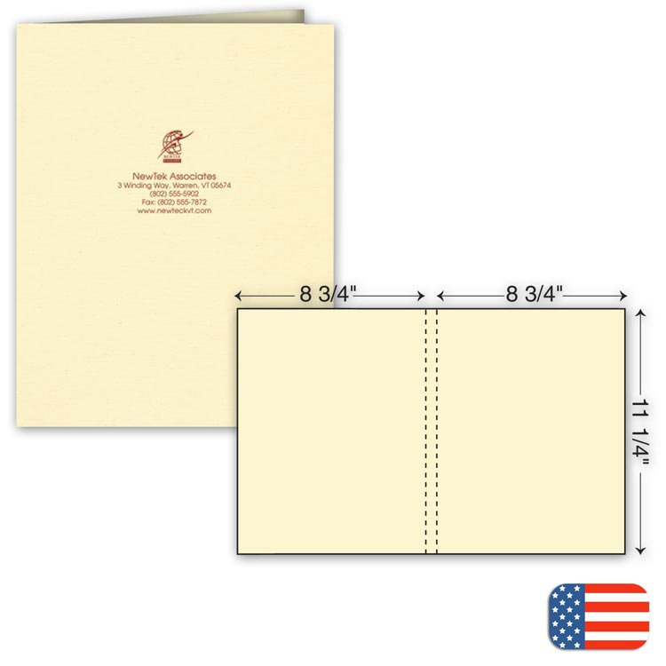 Custom One Part Extra Capacity Report Cover for Promotion