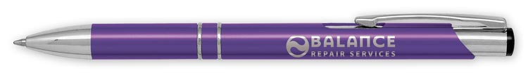 This promotional Echo Premier Pen represents your company with class and style.