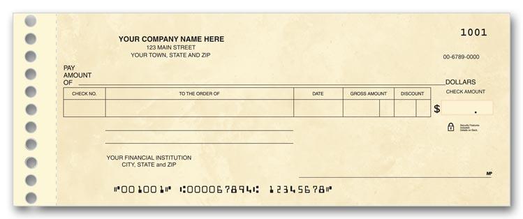 business checks compact expense ledger check ref 114011n 1