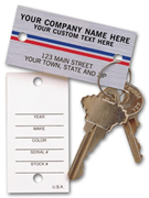 Automotive Shop Key Tags
