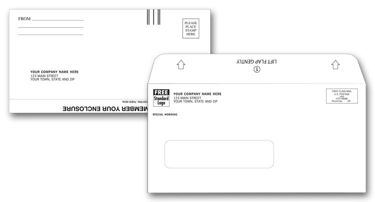 13109 - Mailing & Return Envelope Printing