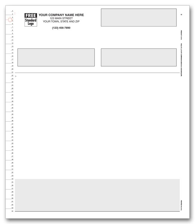 13119 - Multipurpose Forms for Continuous Printers