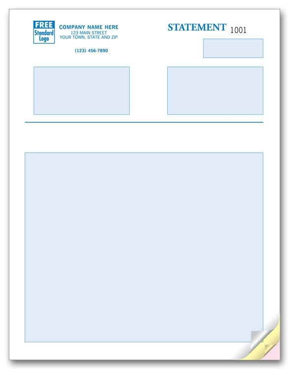 These mutlipurpose forms are ideal for statements, billing, and much more.