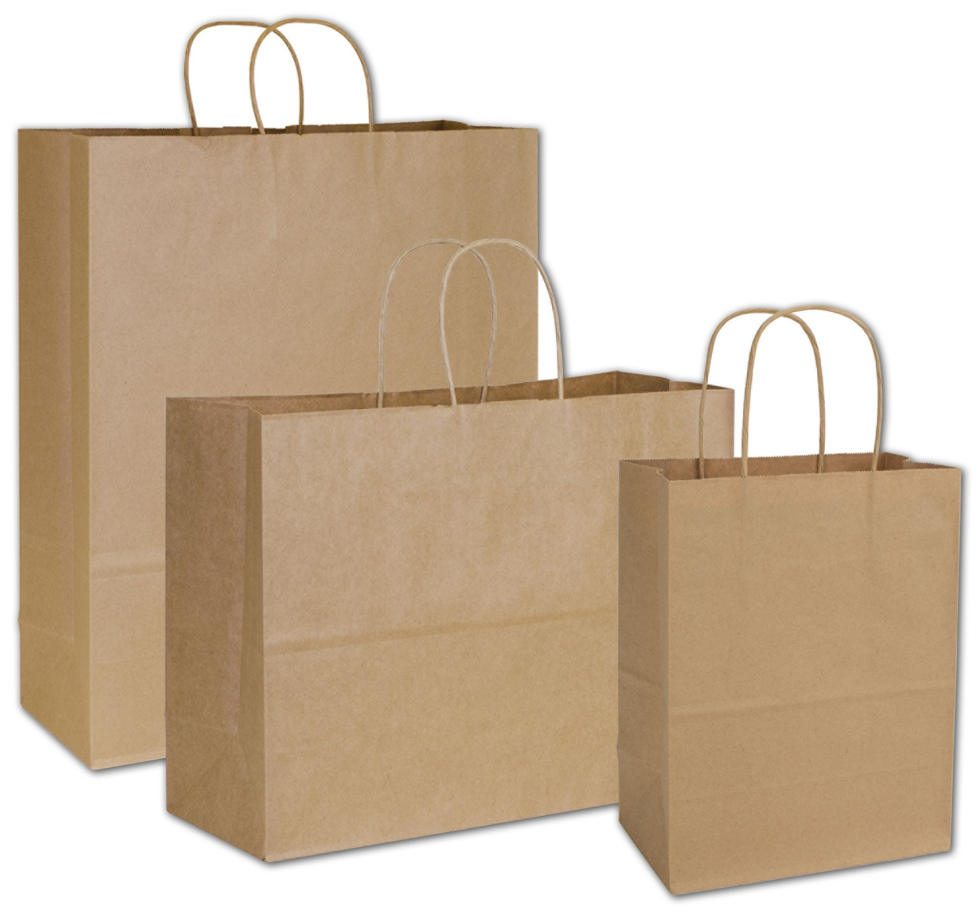 Choice is easy. Save money on this package of Kraft Shopping Bag Assortment. Choose from 3 sizes.