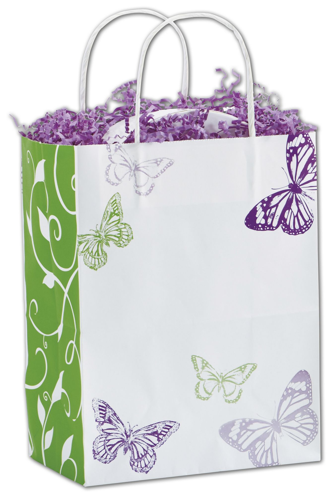 These paper shopping bags make it easy to package purchases elegantly.