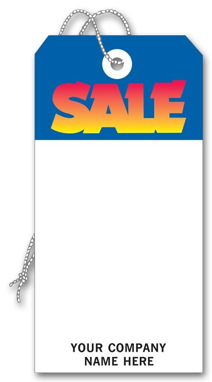 199 - Large Sale Tags