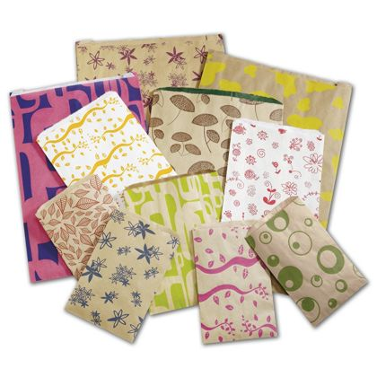 Wrap your little items in a fun way with these Thrifty Print Paper Merchandise Bags.
