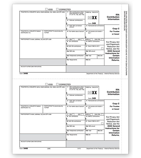 TF5172 - Laser 5498 Form - State Copy C