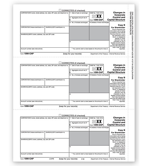 TF5198 - Laser Tax Forms - Laser 1099
