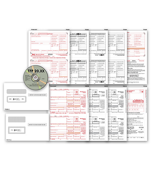 TF7106 - Laser Link 1099 Form with Tax Software