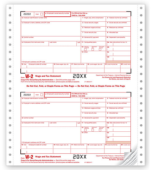 W2 Form 2012  Fill Online Printable Fillable Blank