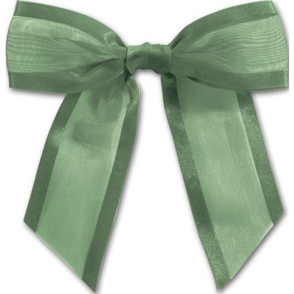 This Hunter Green Organza Tied Bow.  It adds the perfect flair to any gift.