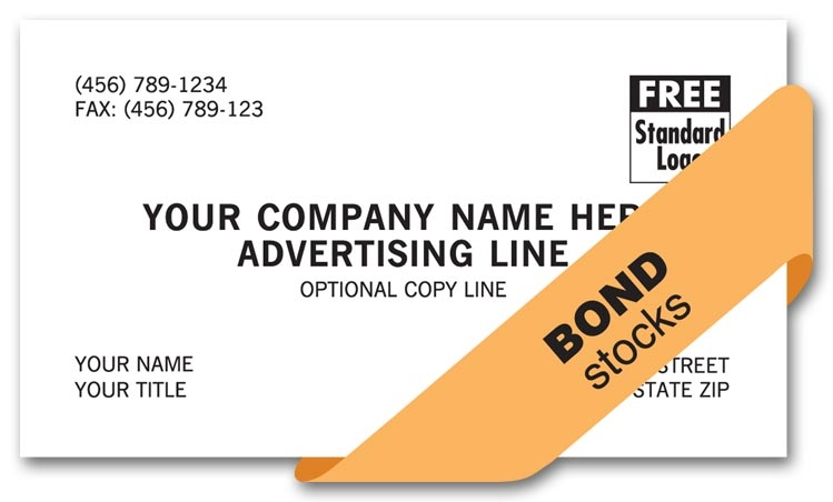 These economical cards are simple yet precise. Printed on Smooth stock.Customize with your own logo.