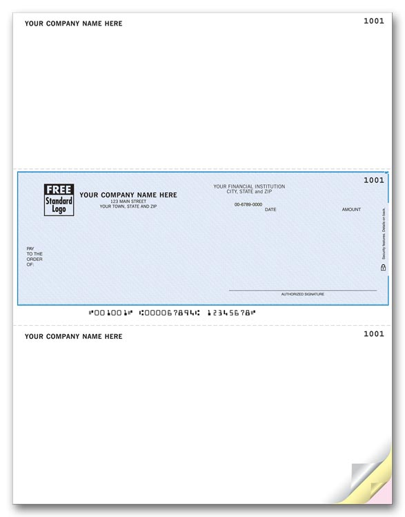 Laser Microsoft® Business Checks help you pay your bills. Use with Inkjet or laser printers.