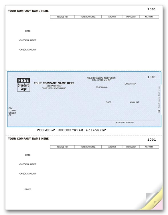 These DacEasy AP Checks allow you to pay bills from your DacEasy software. Choose your check color and personalize.