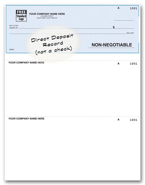 DLT600 - Quickbooks® Deposit Advice Forms