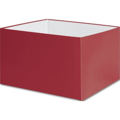 Wrap your gifts in luxury with these matte red large gift boxes.
