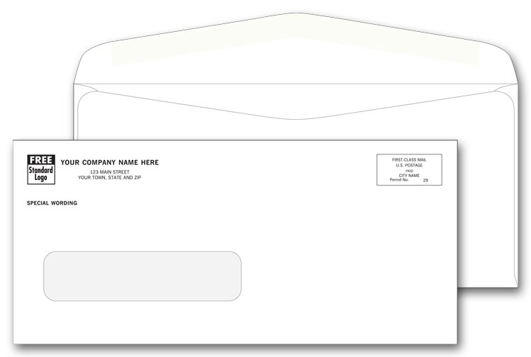 5036C - Custom Printed Envelopes - Window Envelope Printing