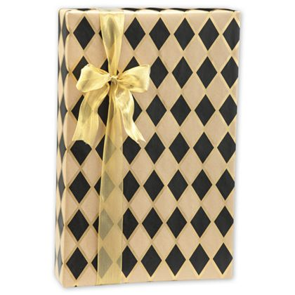 Use this elegant and bold wrap to wrap all of your gifts and packages.