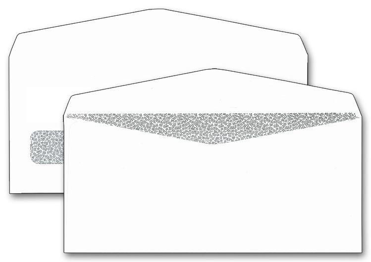 5380 - One Window Check Envelopes, Confidential
