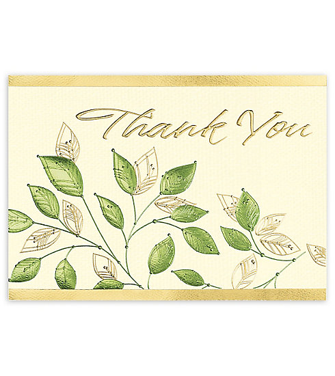 Send your most sincere appreciation with these Elegant Thank You Cards