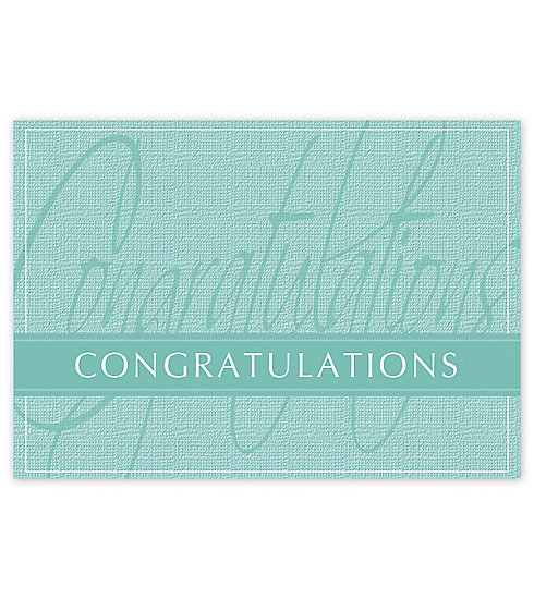 Send your warmest congratulations with this Celebrate Victory Card.