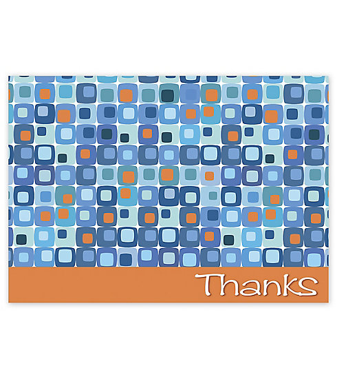 Send your boldest appreciation with these Thank You Cards.