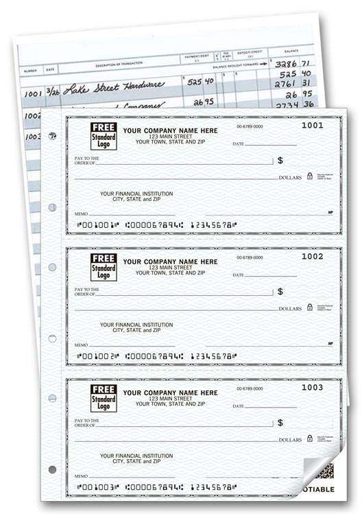 56500N - Duplicate Personal Size Checks and Register
