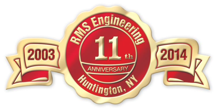 Custom printed foil labels with anniversary years printed on each side. Available in gold foil, silver foil or bronze.