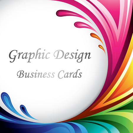 Full Color Business Cards Graphic Design Charge