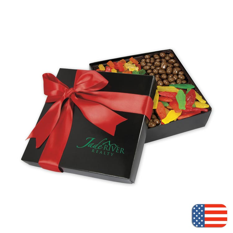 Custom Promotional Gourmet Confections Box with custom options