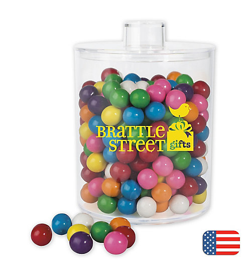 These fun and delicious gum balls are a perfect way to say thank you to those who have been loyal.